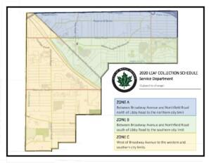 Leaf Pickup Map