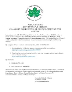 Icon of June 3, 2020 Council Packet