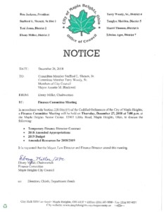 Icon of December 27, 2018 Meeting Notice And Packet