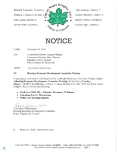 Icon of January 10, 2017 Meeting Notice And Packet