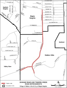 Icon of Dunham Road Improvements Project Map