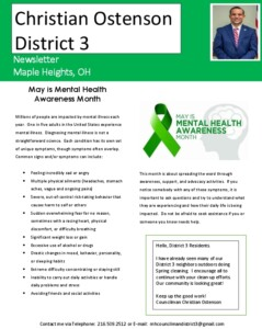 Icon of May 2021 District 3 Newsletter