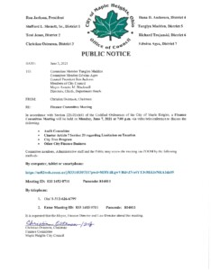 Icon of June 7, 2021 Meeting Notice And Packet