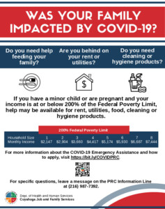 Icon of COVID Assistance Flyer English And Spanish 7.2021