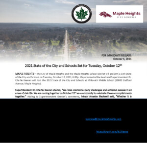 Icon of October 4, 2021 - City and School District Joint Press Release 2021 State Of The City And Schools