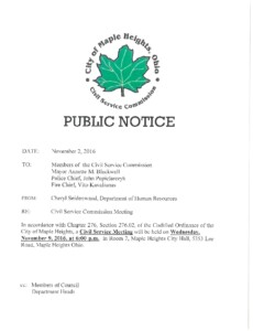 Icon of 11-09-2016 Meeting Public Notice